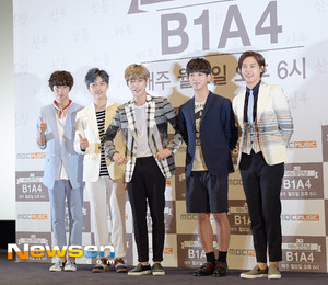 B1A4 'One Fine Day' Press Conference