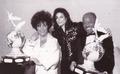 Backstage At The Jackson Family Honors Awards Ceremony - michael-jackson photo