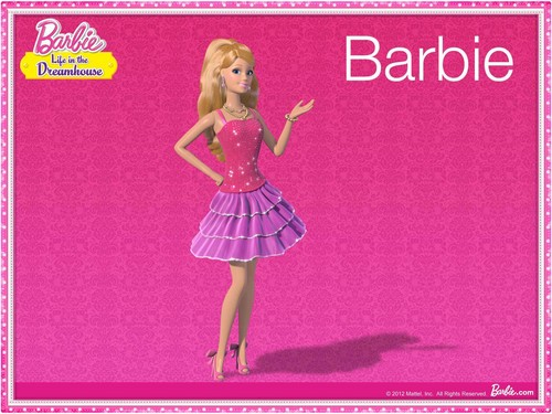 Barbie: Life in the Dreamhouse پیپر وال called Barbie Life In The Dream House Set
