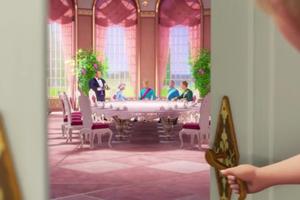 """Барби and the Secret Door-""""If I had Magic"""" Музыка Video Snapshots"""