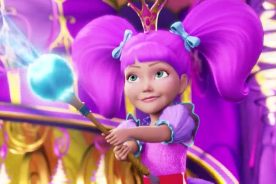 "Barbie movies barbie and the secret door ""if i had magic"" music"