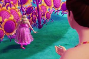 "Barbie and the Secret Door-""If I had Magic"" موسیقی Video Snapshots"