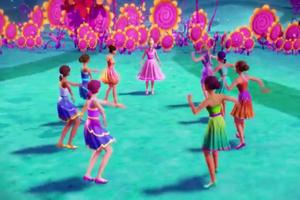 """Barbie and the Secret Door-""""If I had Magic"""" musique Video Snapshots"""