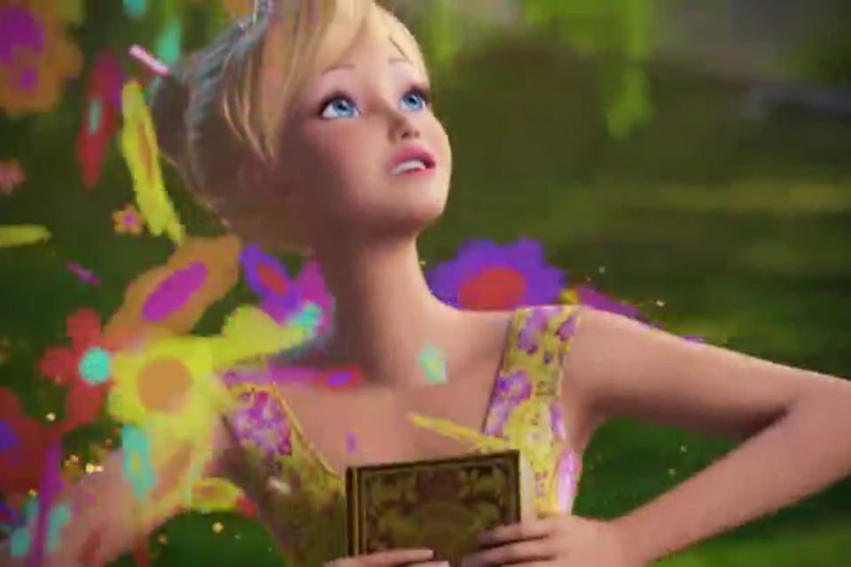 "Barbie and the Secret Door-""If I had Magic"" Music Video Snapshots"
