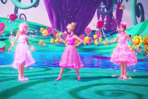 "barbie and the Secret Door-""If I had Magic"" música Video Snapshots"