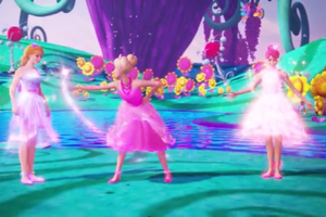 "Barbie and the Secret Door-""If I had Magic"" Musik Video Snapshots"