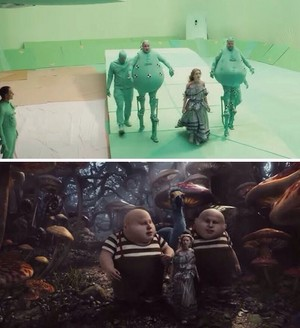 Behind the Scenes | Alice in Wonderland