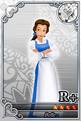 Belle Cards in Kingdom Hearts X
