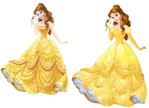 Belle (Current and New Design's)