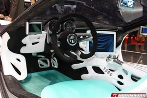 Bertone Alfa Romeo Pandion (Interior)