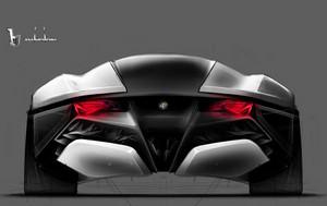 Bertone Alfa Romeo Pandion (Rear)