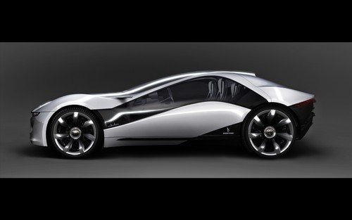 Random wallpaper titled Bertone Alfa Romeo Pandion (Side)