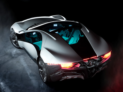 Random wallpaper called Bertone Alfa Romeo Pandion (Top)