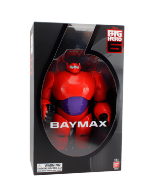 Better look at the box from the SDCC exclusive Baymax action figure