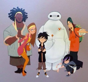 Big Hero 6 - Concept Art