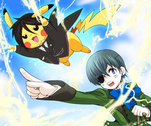 Black Butler Pokemon Parody