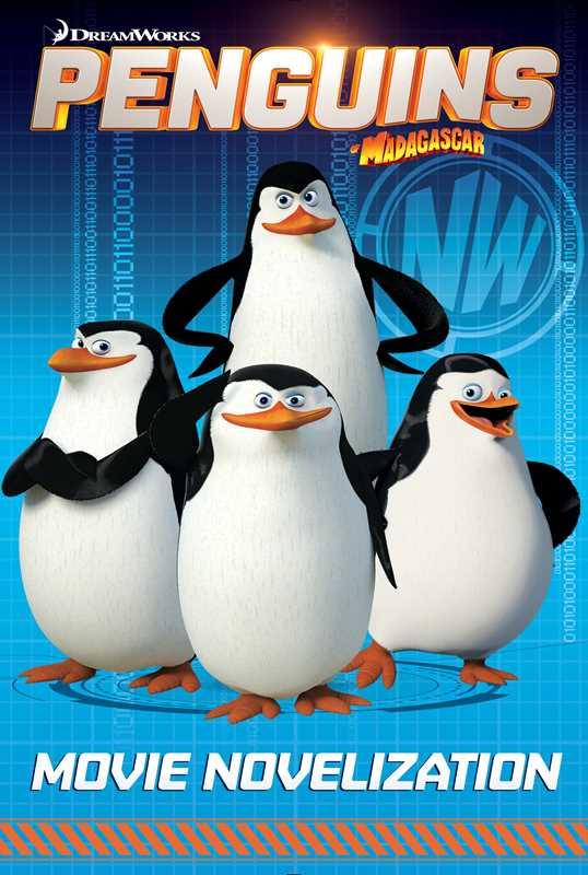 Book Cover Photography Near Me : Book cover movie novelization penguins of madagascar