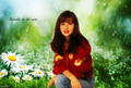 Brenda in the rain - shannen-doherty wallpaper
