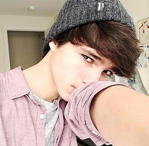 S8rah 壁紙 with a portrait called Brent Rivera-Magcon <3