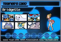 Bridgette's Trainer Card