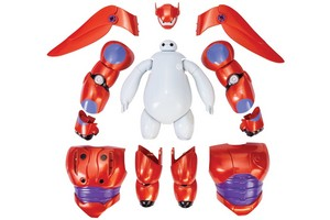 Build your own Baymax action figure