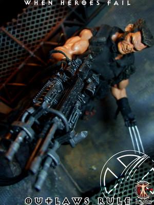 Calvin's Custom One Sixth Marvel Outlaws - Wolverine