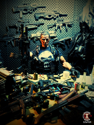 Calvin's Custom One Sixth Scale The Punisher