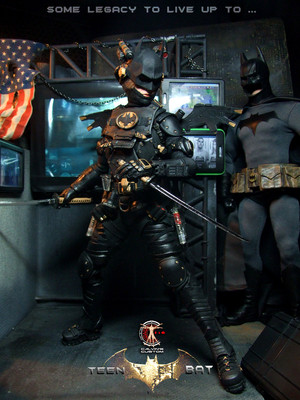 Calvin's Custom One Sixth Teen BAT figure