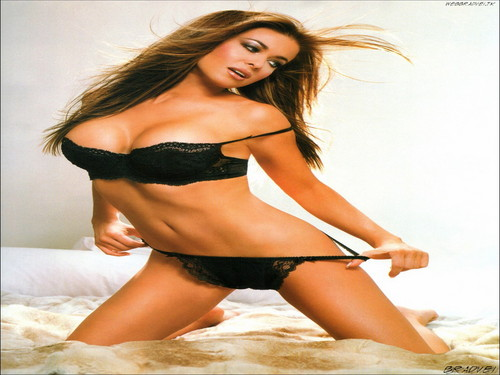 Carmen Electra wallpaper possibly with a bikini, a brassiere, and a lingerie called Carmen