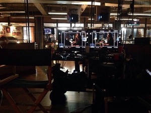 Castle Season Seven premire behind the scenes