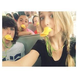 Chandler with Hana, Garyson and Shelley