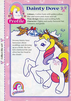 Character profilo - Dainty colomba