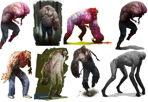 Left 4 Dead 2 fond d'écran called Charger Concept Art