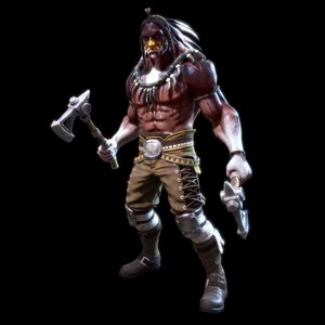 Chief Thunder sculpture