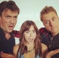 Chloe, Alan and Nathan