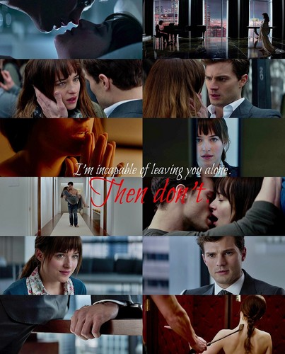 Fifty Shades of Grey Hintergrund possibly with a portrait titled Christian and Anastasia