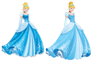 cinderella (Current and New Design's)