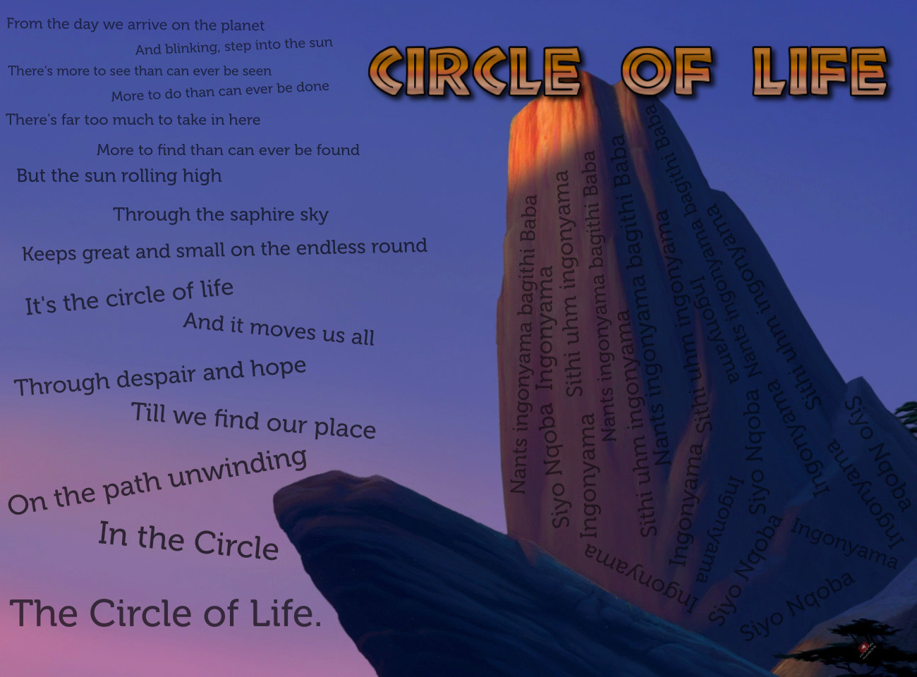 circle of life quotes like success