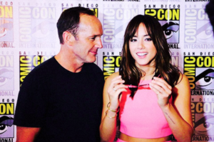 Clark and Chloe at Comic Con