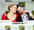 Colifer hug at comic con