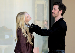 Colin O'Donoghue and Jennifer Morrison ❤