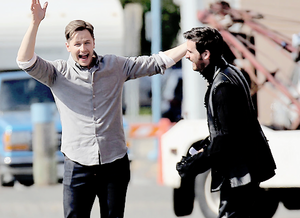 Colin O'Donoghue and Josh Dallas ❤