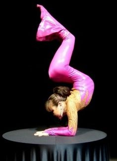 Contortionist, Iona, from the show, Humanly Impossible