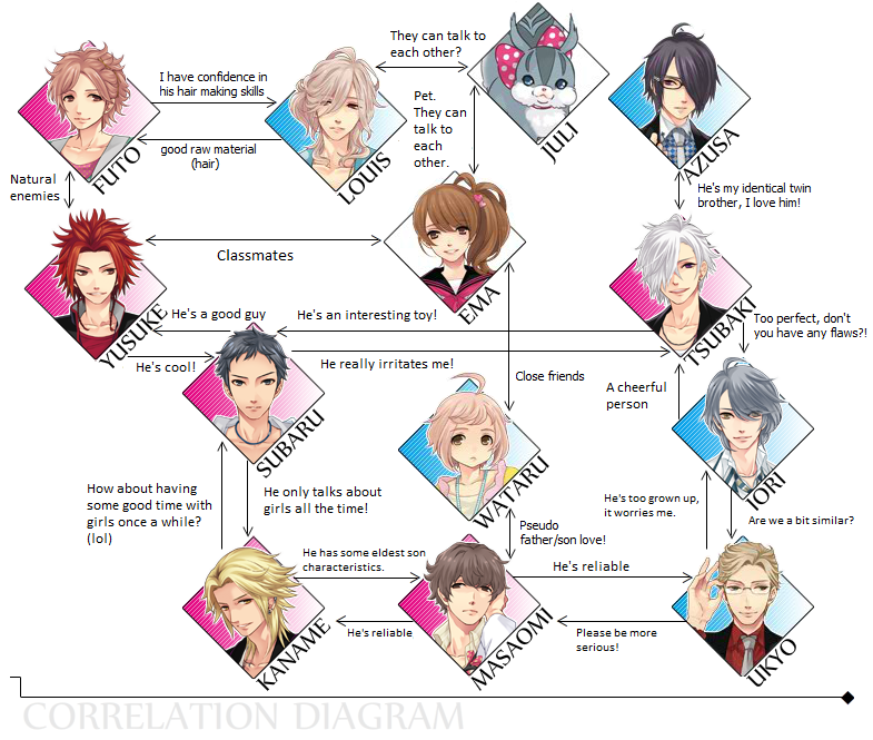correlation diagram brothers conflict photo 37388137. Black Bedroom Furniture Sets. Home Design Ideas