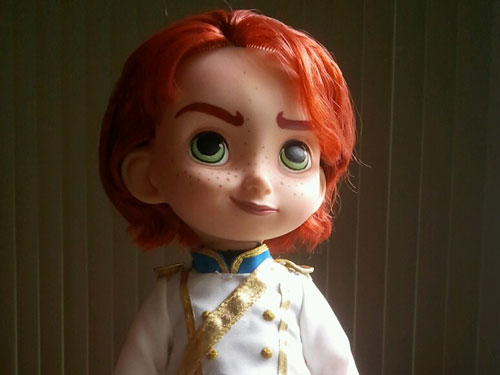 Custom Prince Hans Doll