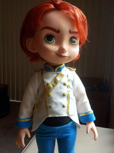 Hans wallpaper entitled Custom Prince Hans Doll