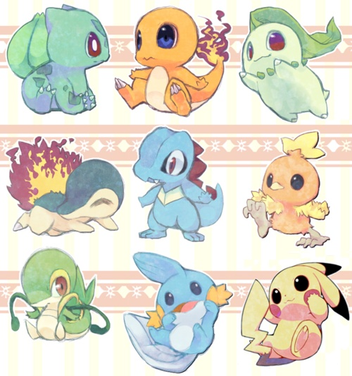 Cute Baby Pokemon