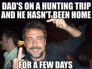 Dad's On A Hunting Trip And He Hasn't Been inicial In A Few Days