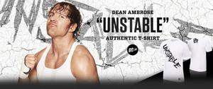 """Dean Ambrose """"Unstable"""" T-Shirt"""