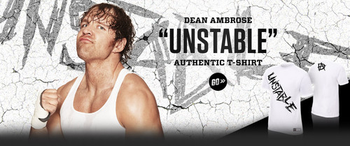 "The Shield (WWE) wallpaper probably containing a portrait titled Dean Ambrose ""Unstable"" T-Shirt"